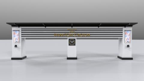 Gate01 3D Model