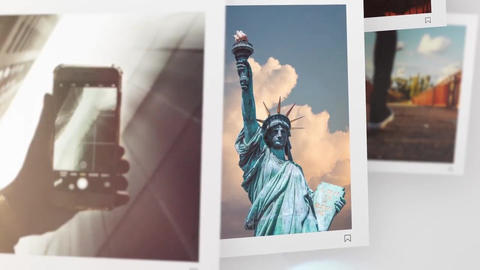 Slideshow - Square Photo // Final Cut Pro Apple Motion Template