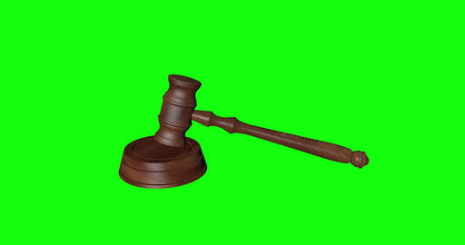 animations 3d law court hammer justice wood judge judgment green screen law justice hammer court Animation