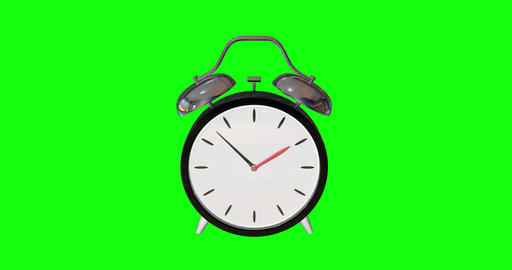 animations 3d alarm twin clock twin bell twin alarm wind up clock wind up bell wind up alarm awake Animation