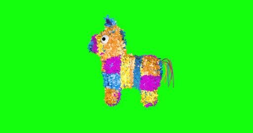8 animations 3d pinata rainbow mexican donkey rainbow pinata party mexican party donkey party pinata Animation