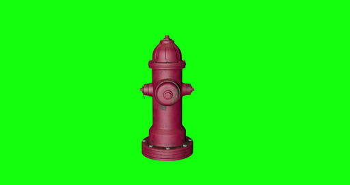 4 animations 3d pipe red fair red hydrant red pipe water fairfighter water hydrant water pipe green Animation
