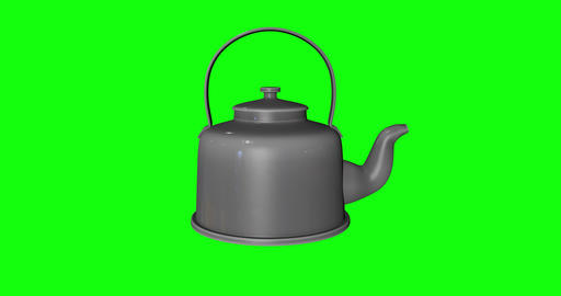 4 animations teapot kitchen metallic kitchen kettle kitchen teapot old metallic old kettle old Animation