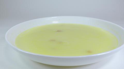 Corn cream soup001 Live Action