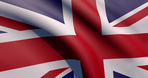 Uk flag waving United Kingdom waving britain waving flag zoom United Kingdom zoom britain zoom flag Animation
