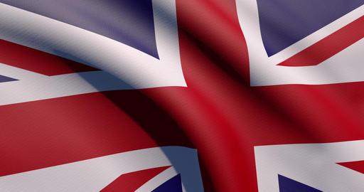 Uk flag waving United Kingdom waving britain waving flag zoom United Kingdom zoom britain zoom flag Animation