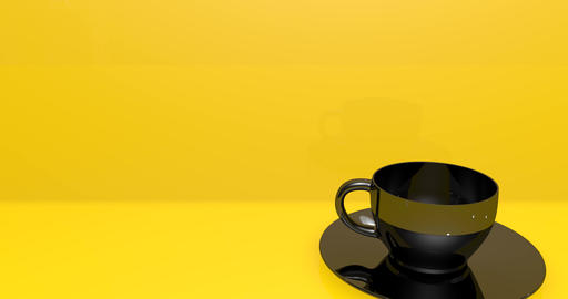 cup black coffee black tea black cup porcelain coffee shop porcelain tea porcelain cup breakfast GIF