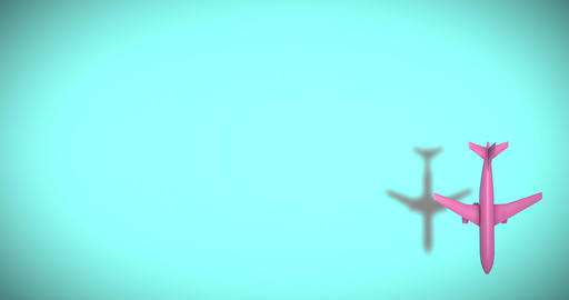 Plane trip flying trip travel trip plane arrival flying tickets travel arrival plane departure Animation