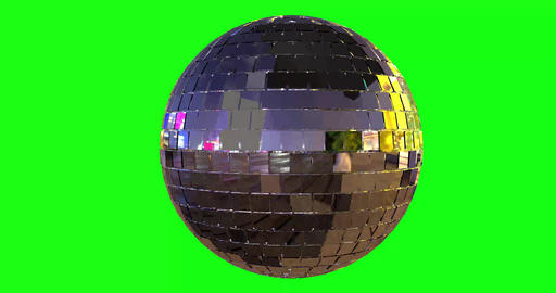 green screen disco mirror rotating disco ball disco green screen party mirror party green screen Animation