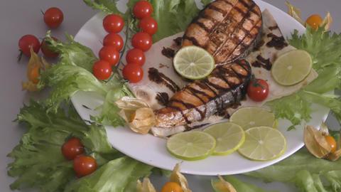 Trout in Mediterranean cuisine GIF
