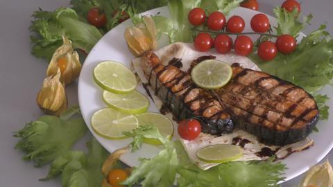 Trout in Mediterranean cuisine Live Action
