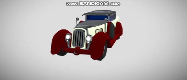 Old Car Modelo 3D