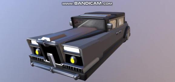Vintage Cars 3Dモデル