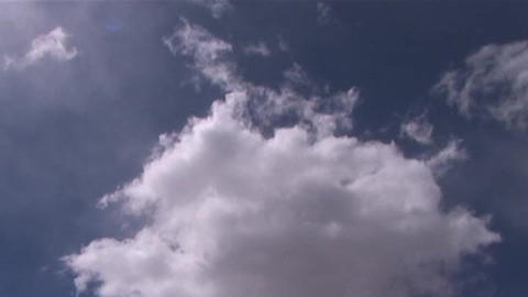 Time lapse of Himalayan clouds Stock Video Footage