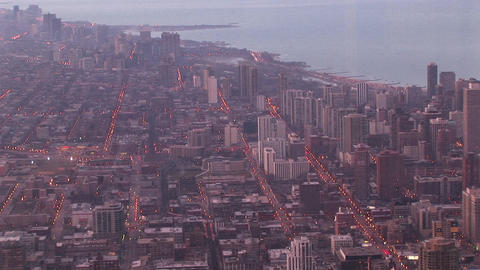 An aerial look at Chicago's urban sprawl Footage