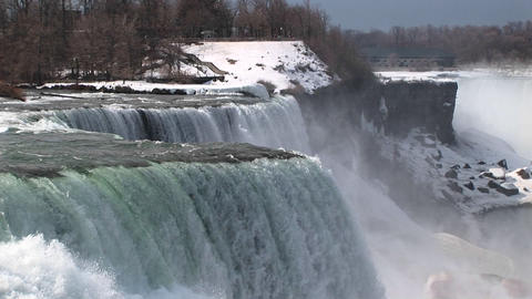 A look at the American side of Niagara Falls Footage