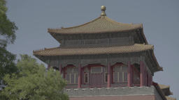 Building in traditional Chinese style . Architecture Of China Live Action