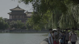 China. Beijing. Forbidden City . Beijing Architecture Footage