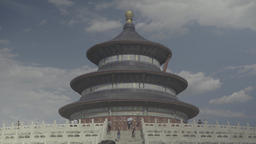 China. Beijing. Temple Of Heaven (Tiantan Park) Live Action