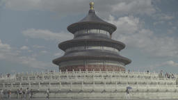 Beijing. Architecture Of China. Temple Of Heaven (Tiantan Park) Footage