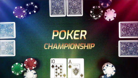 4k Poker Game Pack After Effects Template