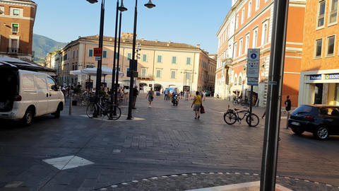 piazza europa and the municipal library Live Action