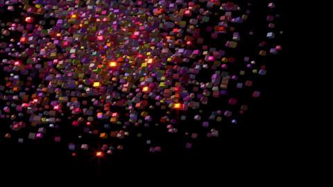 Futuristic technology light video animation, loop HD Videos animados