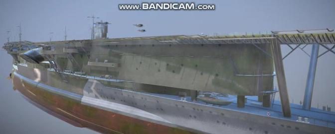 Akagi Japase military Vessel 3D Model