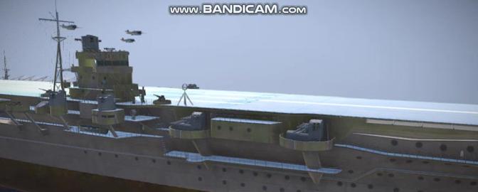 Shokaku Japanese navi vessel 3D Model