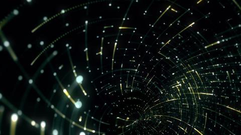 Grid Light Streaks 02 Videos animados