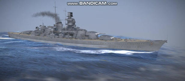 Gneisenau German military vessel Modelo 3D