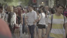 Beijing UHD Crowd