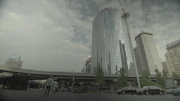 Business district of Beijing. China. Skyscrapers. The city of Beijing Footage