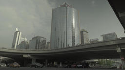 Beijing. China. Views of the city. Beijing skyline Footage