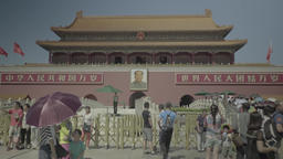 Tiananmen . Beijing. China. The entrance to the Forbidden City Footage