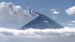 Kamchatka: explosive-effusive eruption of Klyuchevskoy Volcano Footage