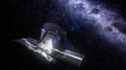 Magellan spacecraft approaching to Venus Live Action