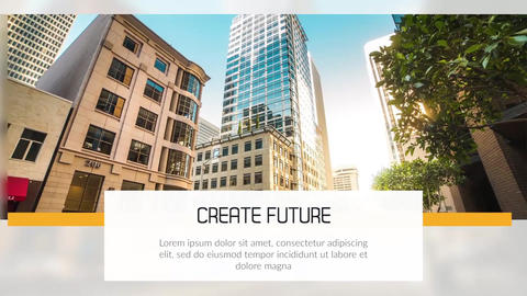 Clean Corporate - Modern Presentation // Final Cut Pro Apple Motion Template