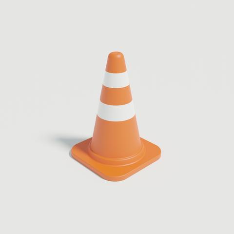 Sankaku orange 3D Model