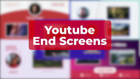YouTube End Screens Apple Motion Template