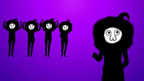 Suspicious person dance video Videos animados