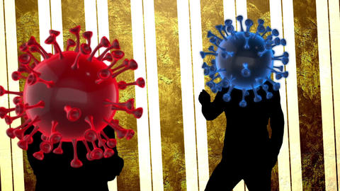 Coronavirus COVID-19 dance video Animation