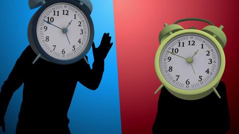 Alarm Clock dance video Animation