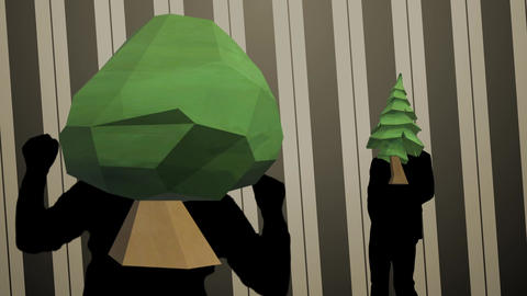 forest dance video Animation