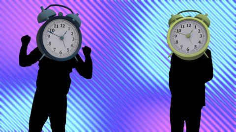 clock dance video Videos animados