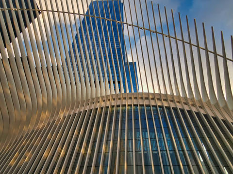 World Trade Center Transportation Hub ( Oculus) in New York city Photo