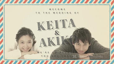 Wedding Profile Movie After Effectsテンプレート