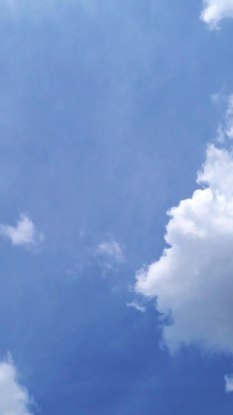 Sky and clouds_portrait Live Action