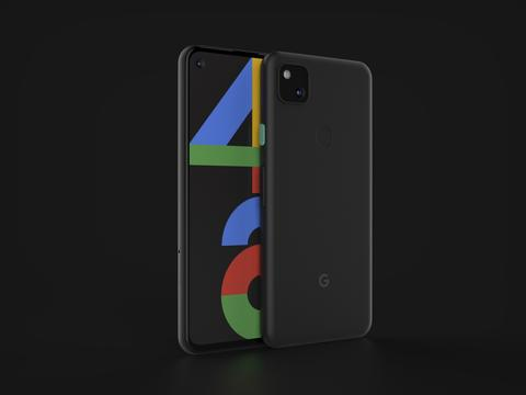 Google Pixel 4a In Official Color 3D Model
