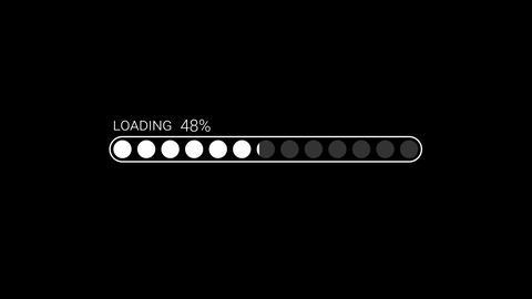 Loading Bar Video 02 CG動画